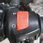 bouton coupure d'urgence du moteur